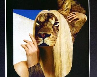 """Título: """"La rubia leona"""""""