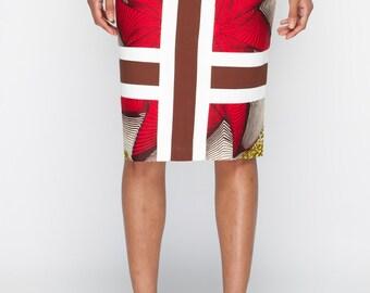 Yes Its Me Pencil Skirt - Plain panel