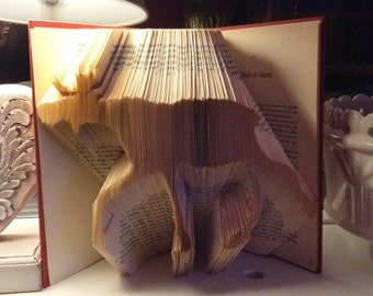 "Book folding pattern "" Moose"""