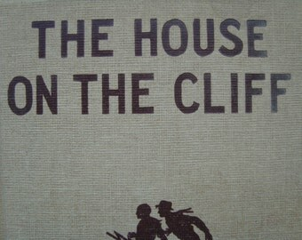 Hardy Boys - The House On The Cliff -  Vintage Youth Series Reading Book - Tweed Edition