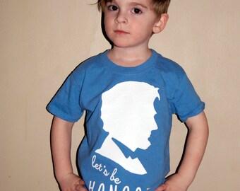 Let's Be Honest Abe Lincoln Tee Children's
