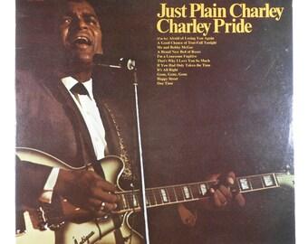 """Charley Pride """"Just Plain Charley"""" Vintage 1970 Vinyl Lp"""