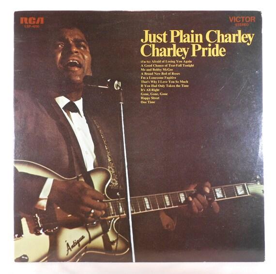 Charley Pride Just Plain Charley Vintage 1970