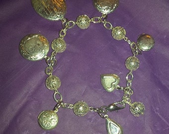 Picturesque Locket Bracelet