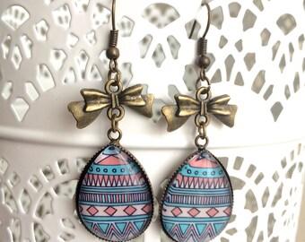 """Earrings """"Precious"""" Aztec"""