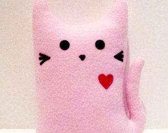 LILY the KITTY GRAM Plush Cat Fundraiser 100% Profits to Animals, Stuffed Animal, Cat Plushie, Cat Softie, Cat Pillow