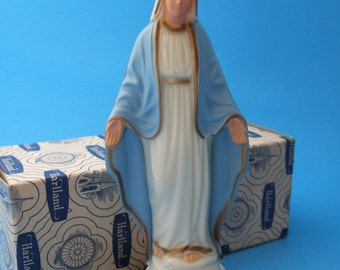 Vintage Catholic Hartland Plastics OUR LADY of GRACE Blessed Virgin Mary statue