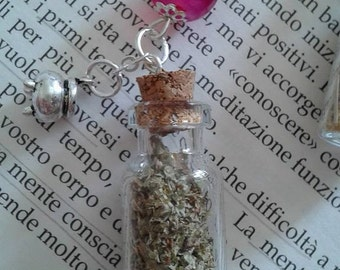 Witch bottle necklace