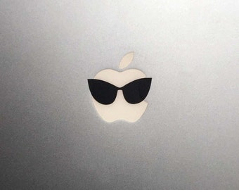 Cat Eye Sunglasses Macbook Decal / Macbook Pro Sticker