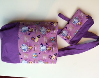 Princess Handbag with Clutch
