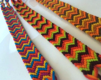 Double Chevron Style Friendship Bracelet - Made To Order