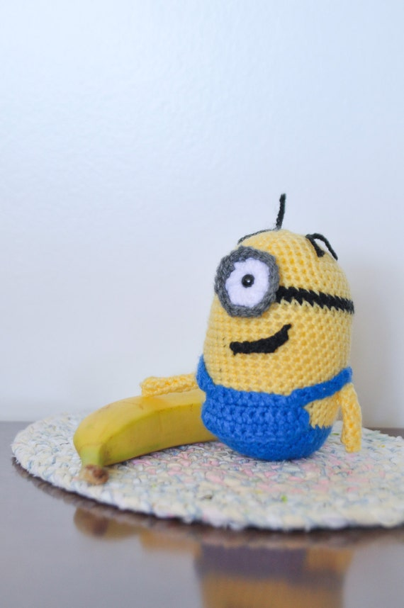 Crochet Patterns Minions Despicable Me : Minion Crochet Pattern Despicable Me Inspired by ...