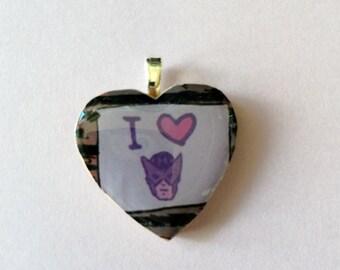 I Heart Hawkeye Pendant