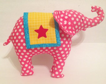 Circus Elephant PDF Pattern