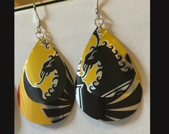 Imperial Dragons - craft beer earrings
