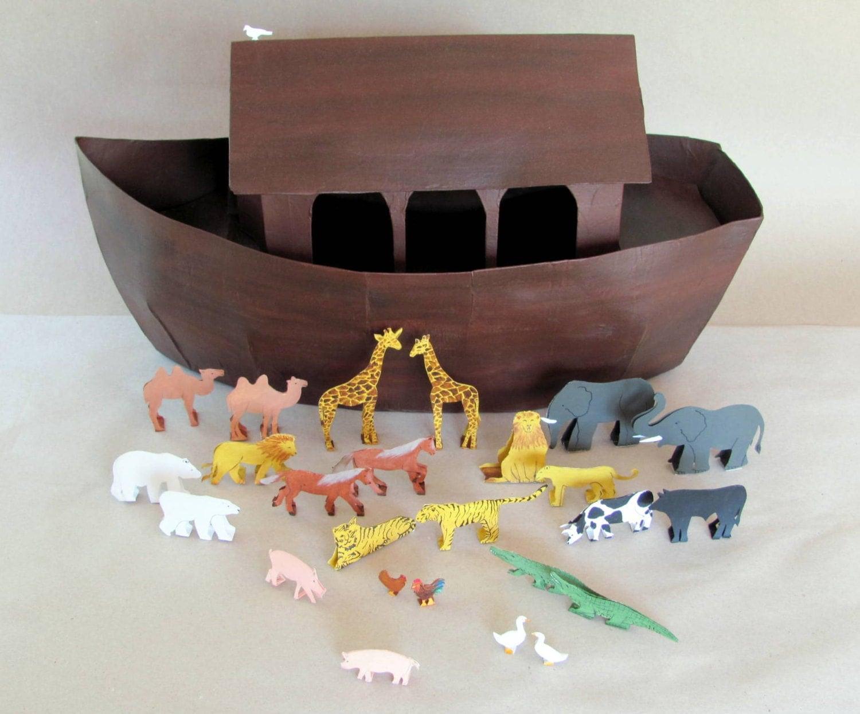 noah 39 s ark crafting tutorials from brinkeratelier on etsy studio. Black Bedroom Furniture Sets. Home Design Ideas