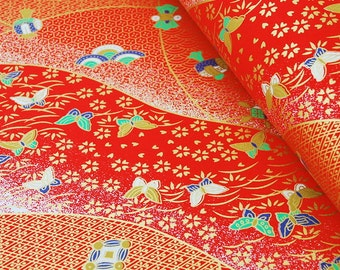 Origami Paper / Yuzen Chiyogami / Washi / Traditional Japanese Favour Crafts 14* 14 / 20 sheets #127