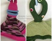 Monster Lovie Crochet Pattern Set