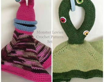 Lovie Crochet Pattern, Monster Crochet Pattern, Crochet Blanket Pattern