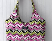 Boho Tote Bag in Jarvis Orchid