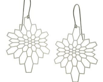 Network Earrings (stainless steel)