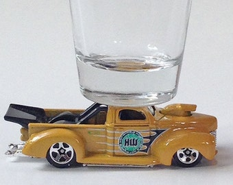 The ORIGINAL Hot Shot, Classic Hot Rods, Shot Glass, '40 Ford HW  Pick Up Truck, Hot Wheels