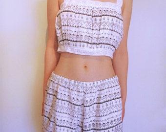 Linen Bloomer Play Set, Lingerie, Sleepwear, Beachwear