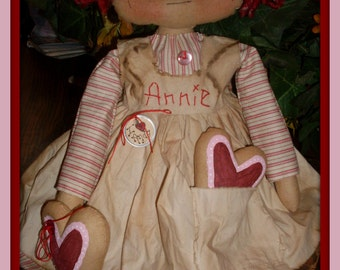 NEW Primitive raggedy Ann style Cookies 4 Andy INSTANT DOWNLOAD ePATTERN 164 Hafair Faap