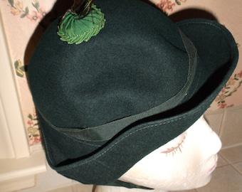 Vintage Child's Glenover Henry Pollak Wool Hat