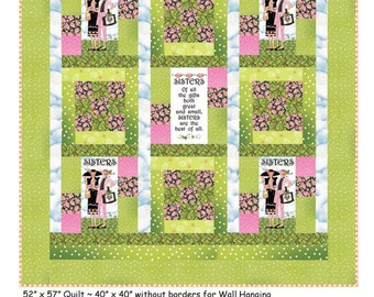 Quilt Pattern - Sisters