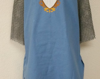 Knight of Jerusalem, Crusades, Jerusalem Cross Medieval Knight Tunic Surcoat Tabard NEW