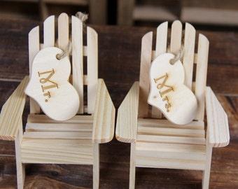 Beach Cake Topper, Beach Wedding, Beach Cake, Chair Cake Topper, Beach, Wedding