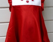 SAMPLE SALE Valentine's Day Dress for Toddler Size 3T Ready to Ship