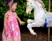 Carousel Dress for Girls Size 1T to 8