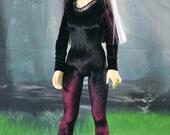 30% OFF! BJD Marsala Velvet Body Suit for MSD Volks 1/4 Dollfie