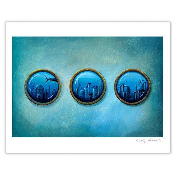 Seafarer Series Limited Edition - Gateway To Antiquity - Signed 8x10 Matte Print (4/10)