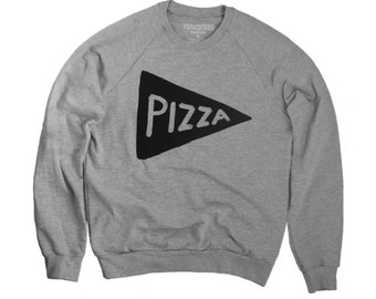 Pizza Crewneck Sweatshirt, gift for him, teen sweatshirt husband gift, teen boy gift, mens gift, dad gift, teen gift, cozy sweatshirt