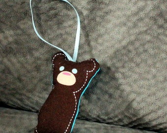 Stuffed Ornament  - Baby Bear