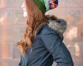 Instant PDF Download, Colorway Slouch, Crochet Pattern