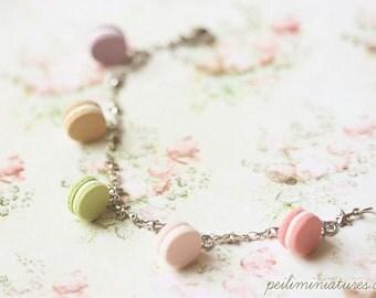 Macaron Bracelet - Macaron Jewelry - 6.25 inches - Small Wrist Bracelet