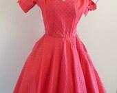 Roecliff & Chapman • vintage 1950s dress • 50s party dress