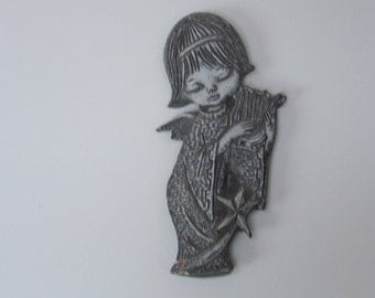 Vintage Angel Wall Hanging Ornament
