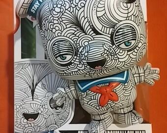 Custom Funko Pop Ghostbusters Stay Puft Marshmallow Man - Pop Art Toy by Howie Green