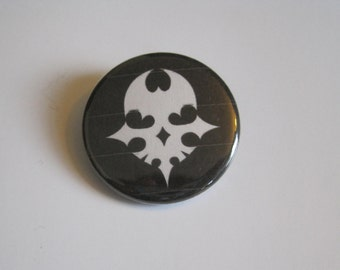 Player Pin The World Ends With You video game Anime Character Pin Button / Badge 1 1/4 Inch