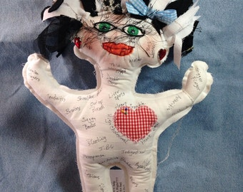 Ache and Pain Doll Perfect for birthdays, retirements, nurse, doctor, lawyer, or anyone that deals with aches and pains...