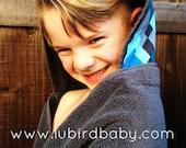 "SALE Hooded Towel ""Arrows"""