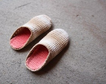 Crochet Pattern - Perfect House Slipper