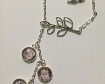 Branch lariot necklace