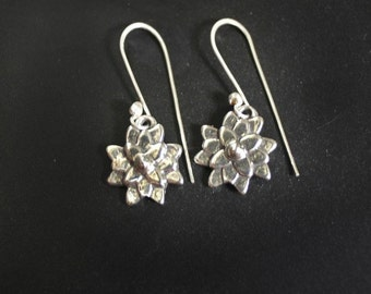 Asian Mum Sterling Silver Dangle Earrings