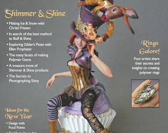The Polymer Arts Winter 2012--Shimmer & Shine  Vol.2, No.4
